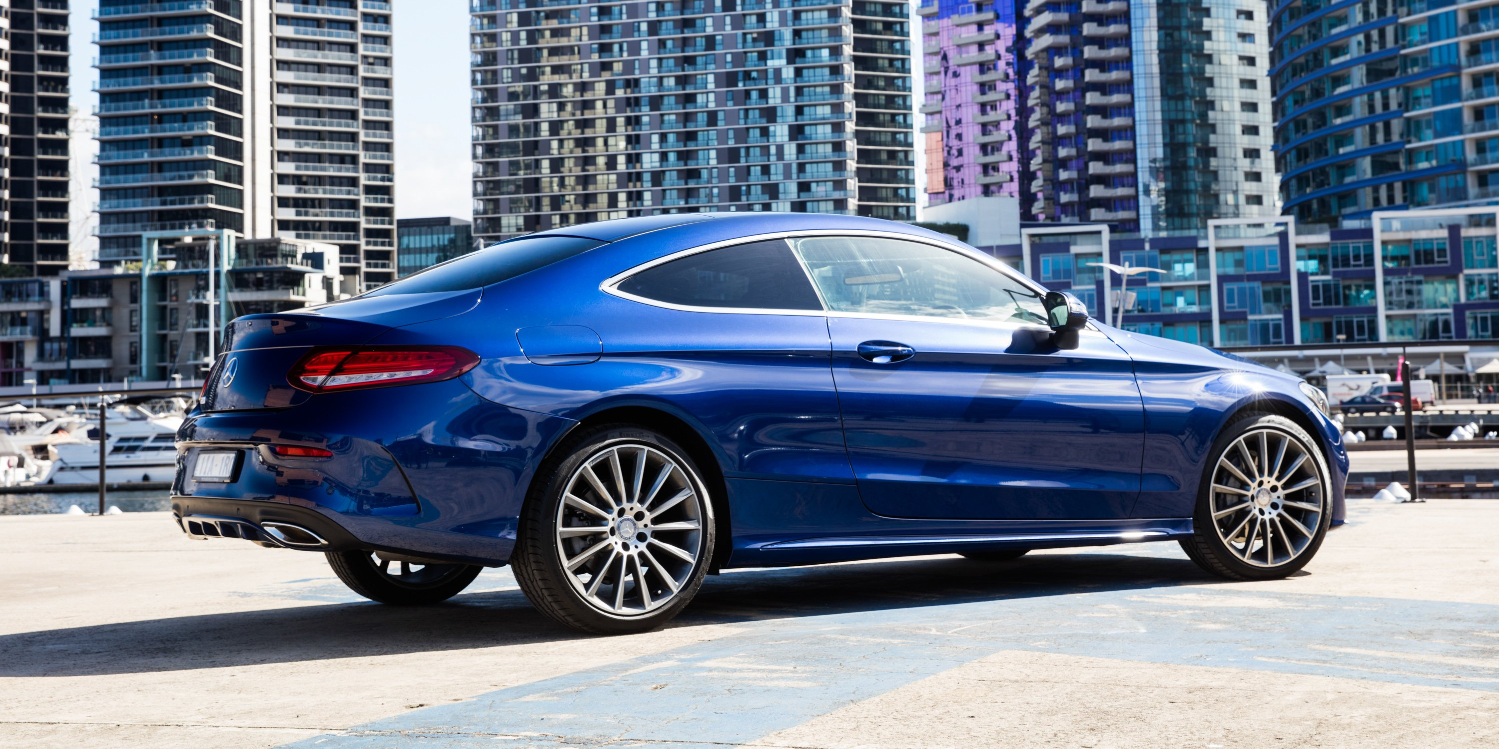 2016 mercedes benz c class coupe review caradvice. Black Bedroom Furniture Sets. Home Design Ideas