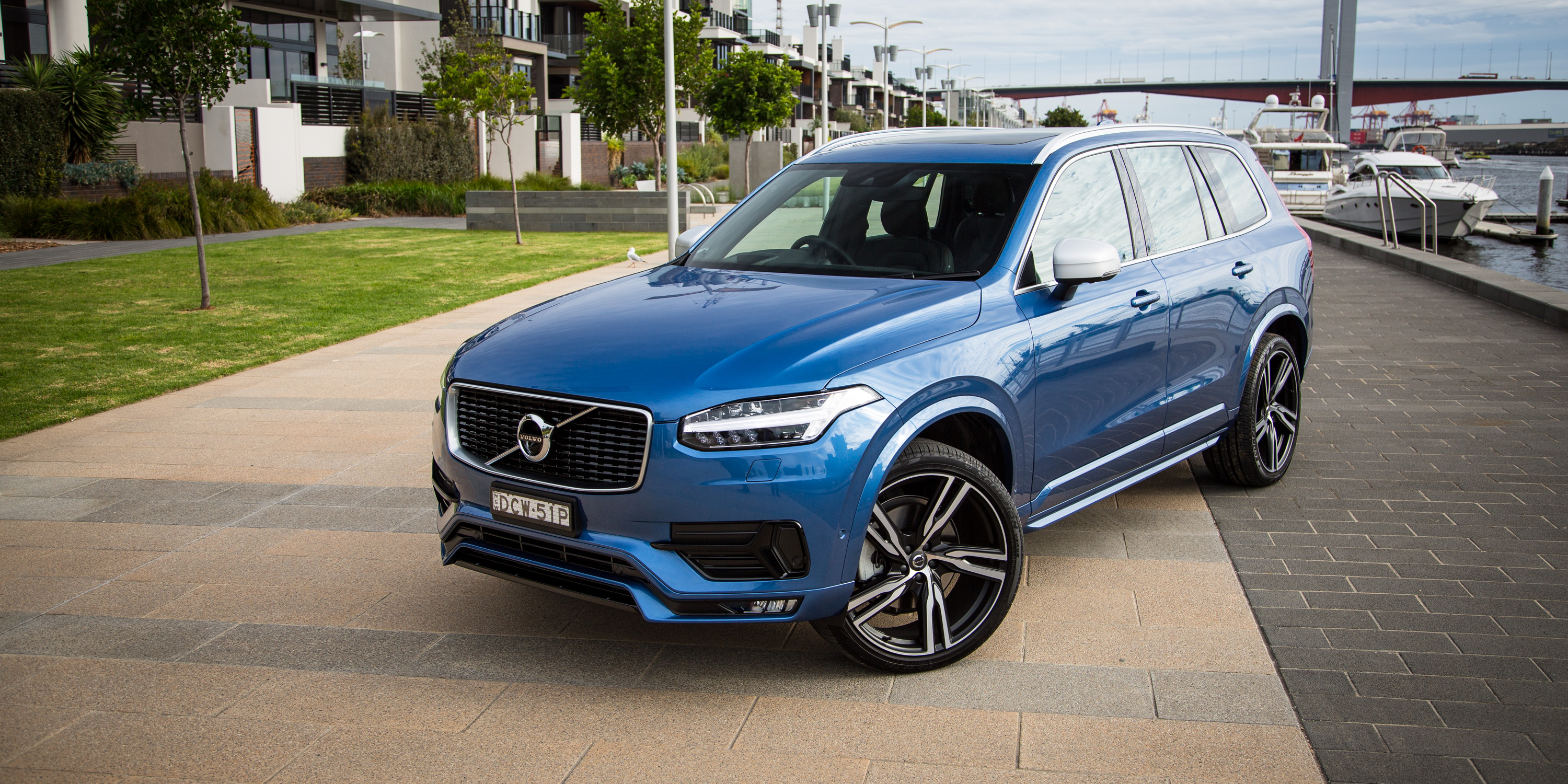 2016 volvo xc90 t6 r design long term report one caradvice. Black Bedroom Furniture Sets. Home Design Ideas