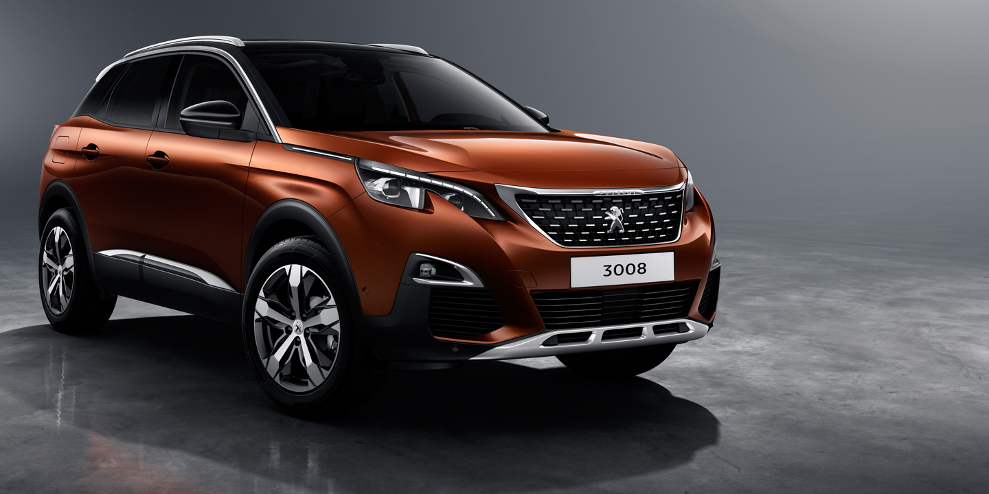 2017 peugeot 3008 revealed australian launch due next year photos 1 of 14. Black Bedroom Furniture Sets. Home Design Ideas