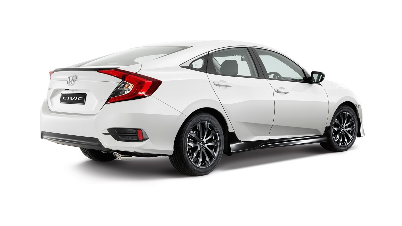 2016 honda civic black pack option unveiled photos 1 of 2 for All black honda civic