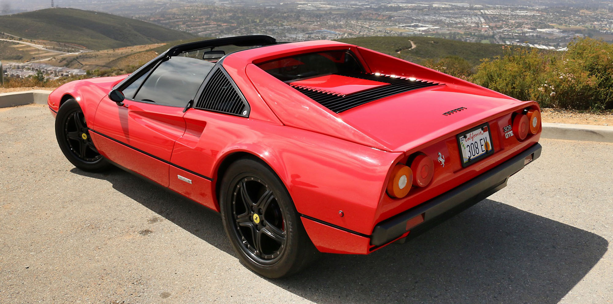 ferrari 308 gts restored with new electric drivetrain photos 1 of 8. Black Bedroom Furniture Sets. Home Design Ideas