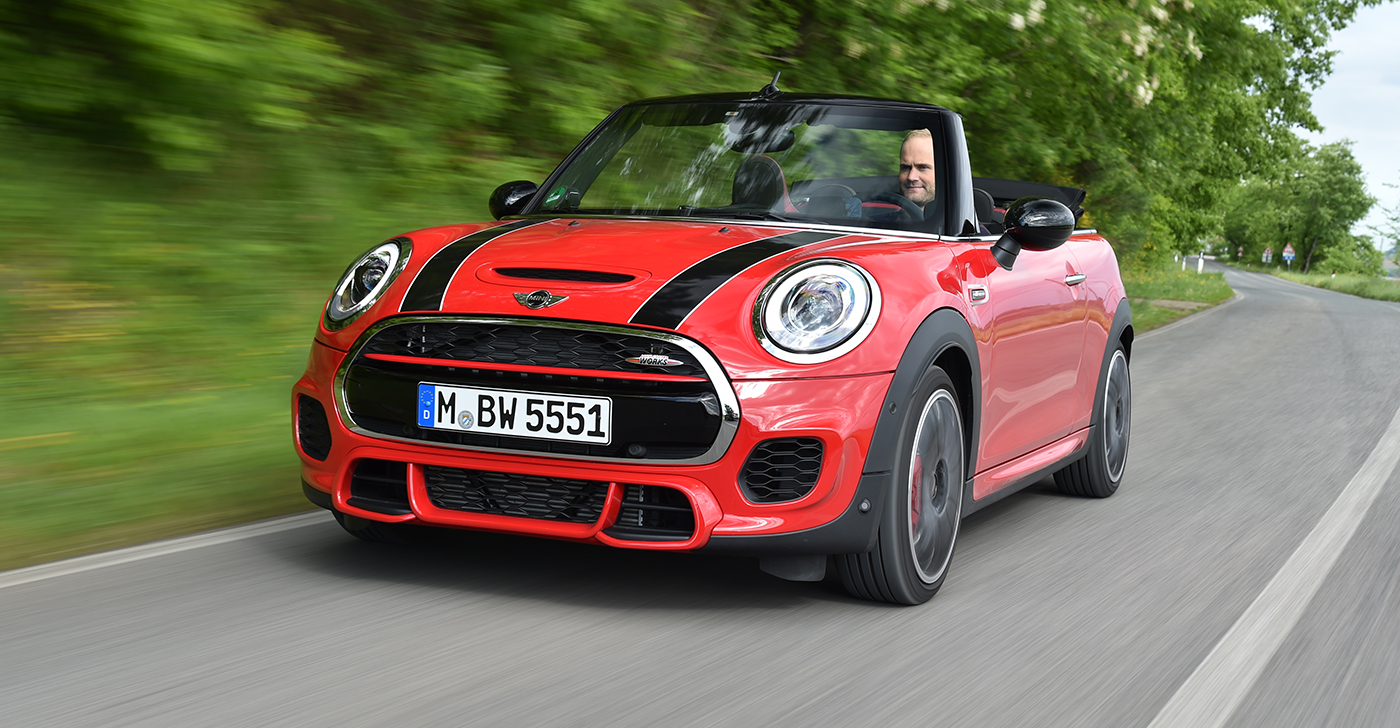 2016 mini jcw convertible pricing and specifications photos 1 of 4. Black Bedroom Furniture Sets. Home Design Ideas