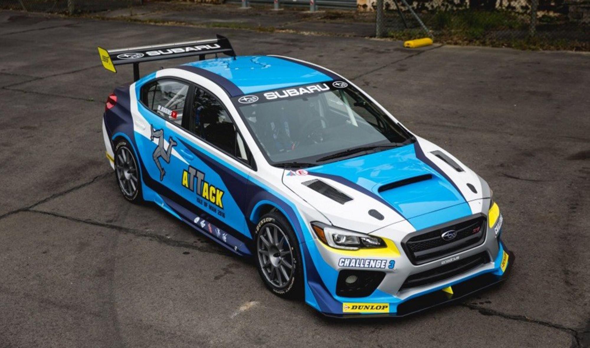 Subaru prodrive set new isle of man tt record with enhanced wrx sti update