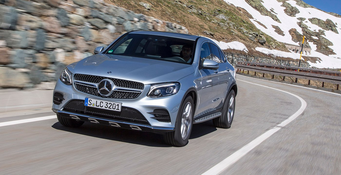 2017 mercedes benz glc coupe six variants for australia for Mercedes benz glc coupe 2017