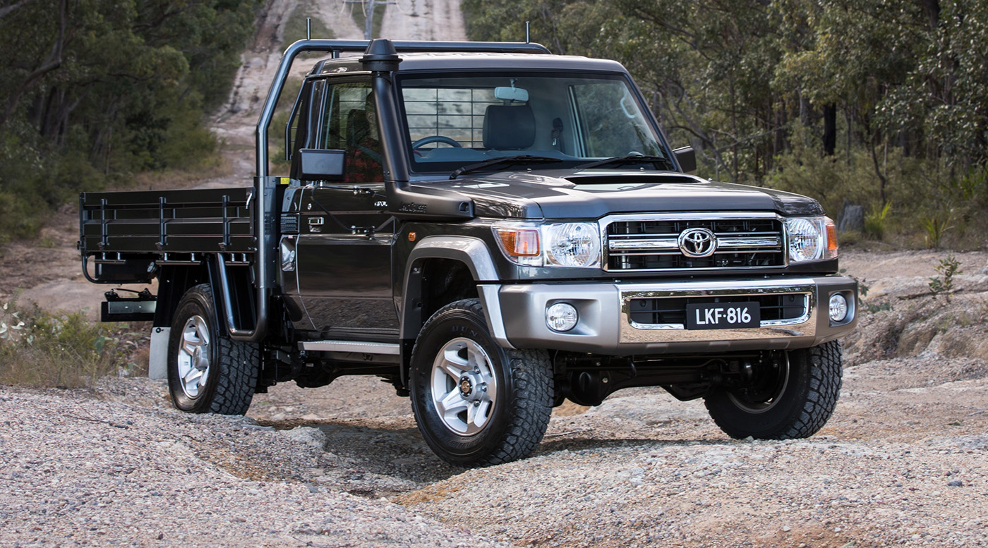 2017 toyota landcruiser 70 series australian updates. Black Bedroom Furniture Sets. Home Design Ideas