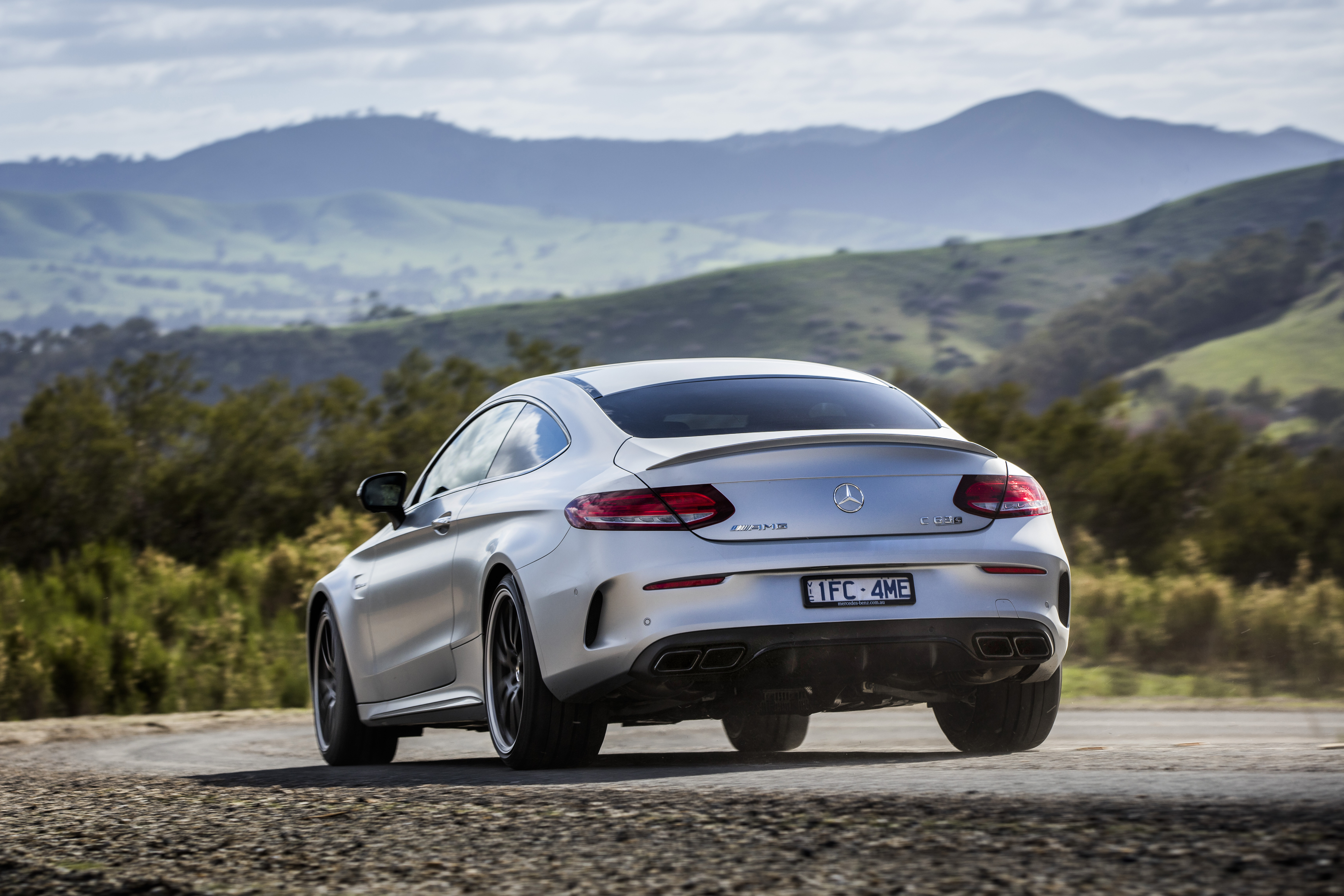 Coupe Vs Sedan >> 2017 Mercedes-AMG C63 S Coupe Review | CarAdvice