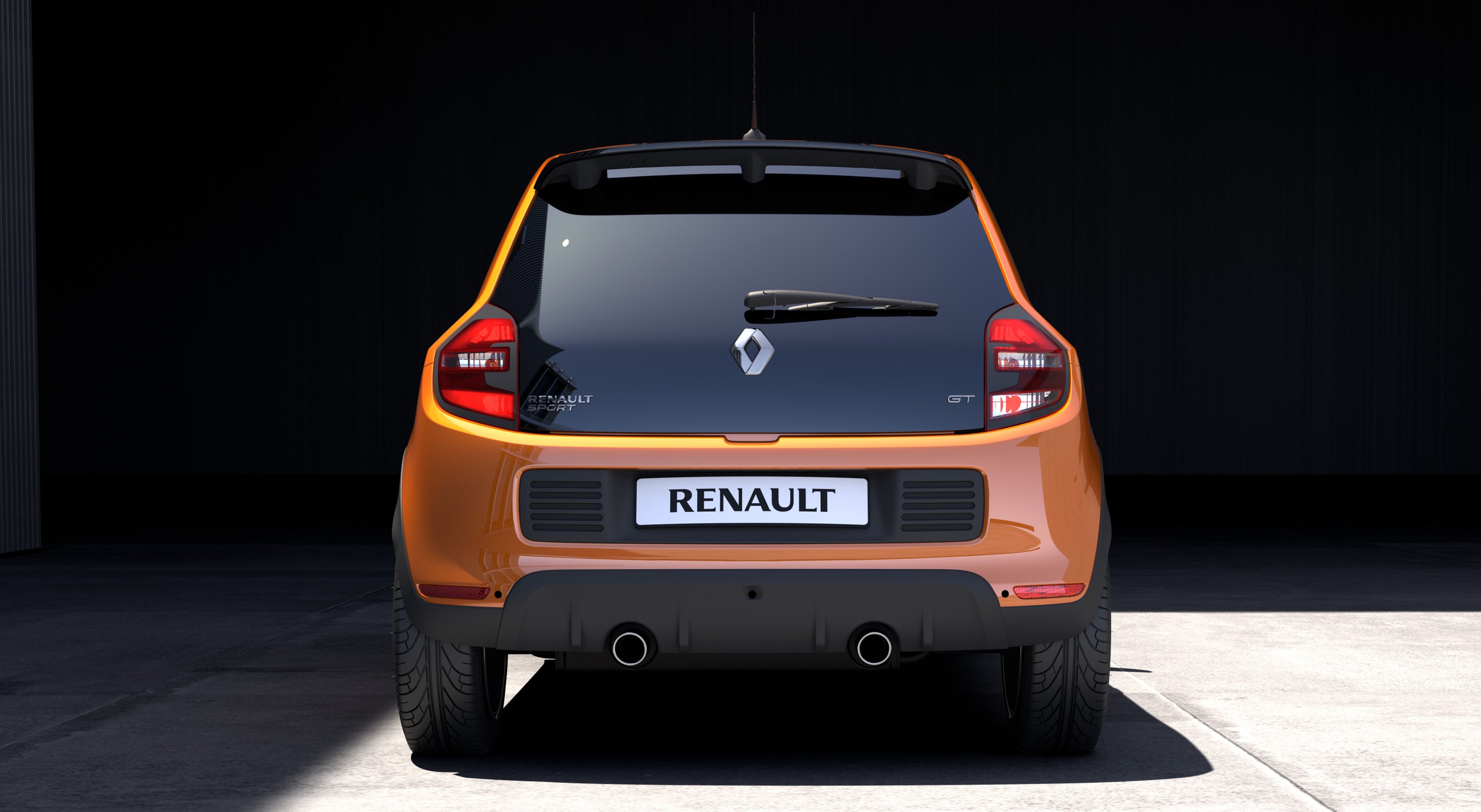 renault twingo gt rear drive city car gets renault sport boost photos 1 of 14. Black Bedroom Furniture Sets. Home Design Ideas