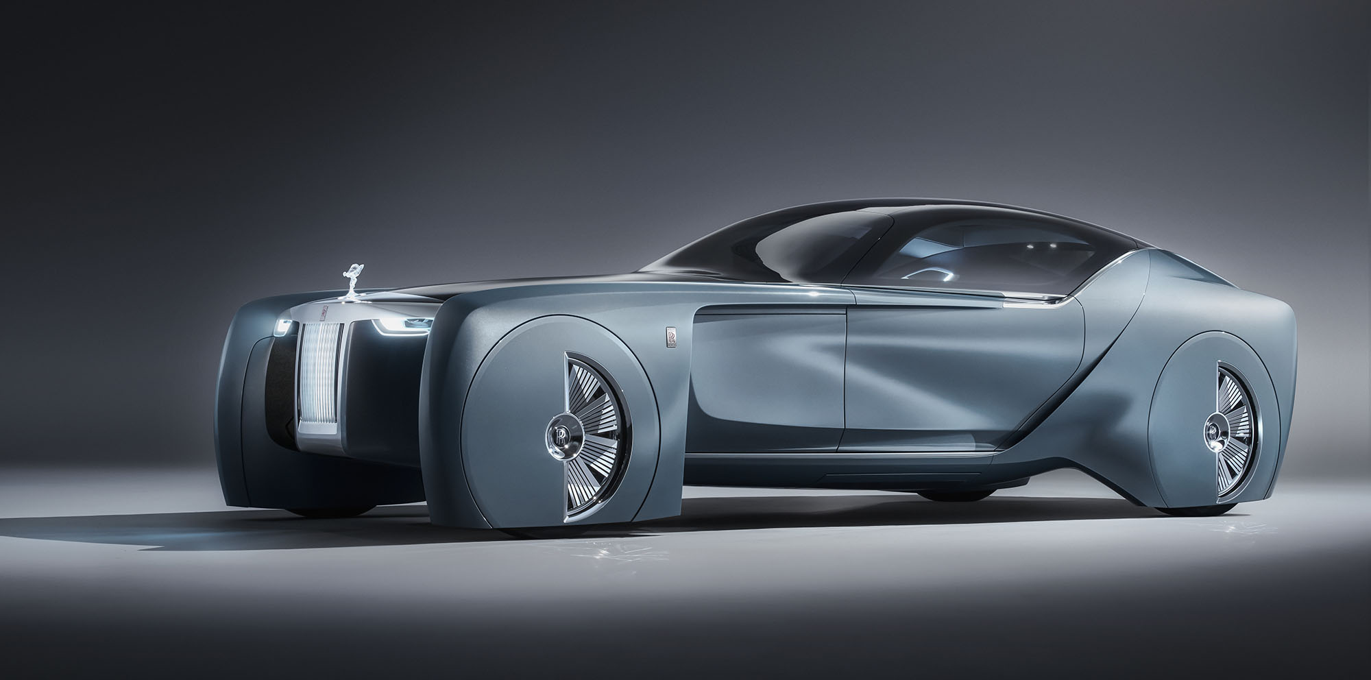 Rolls Royce Vision Next 100 Concept Unveiled Photos 1