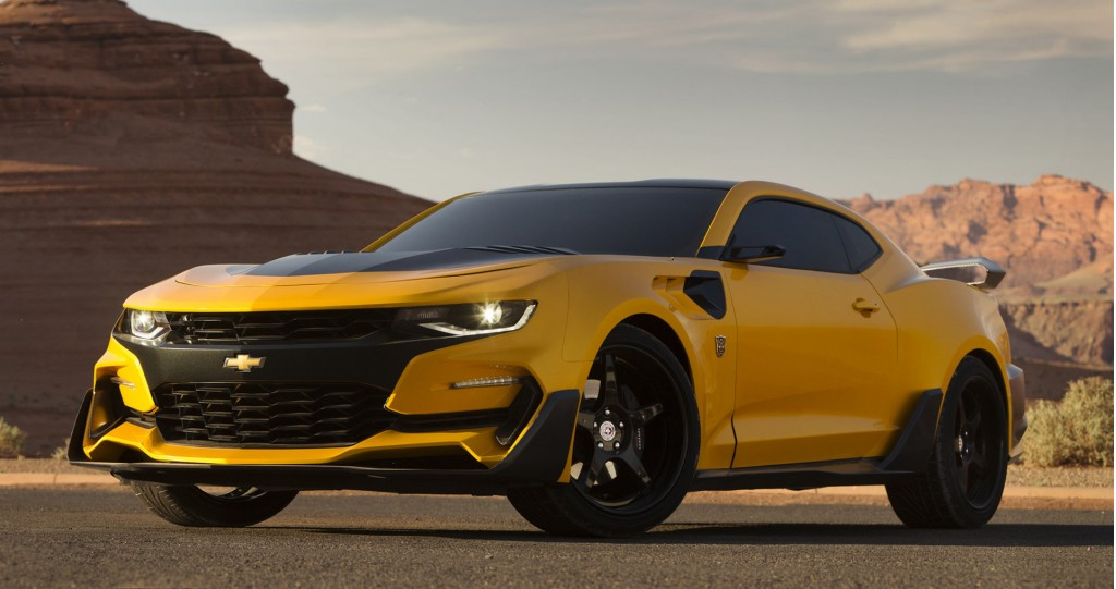 Bumblebee Chevrolet Camaro revealed for new Transformers film