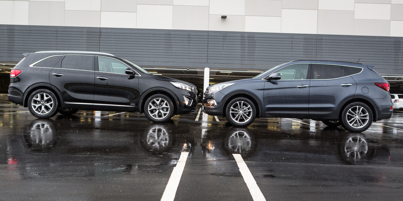 Original Hyundai Santa Fe Highlander V Kia Sorento Platinum V Mazda