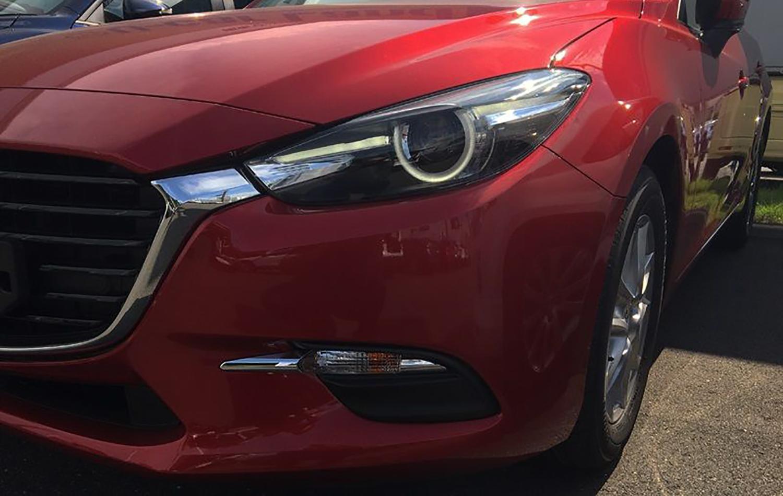 2016 Mazda 3 facelift revealed in spy photos - Photos (1 of 10)