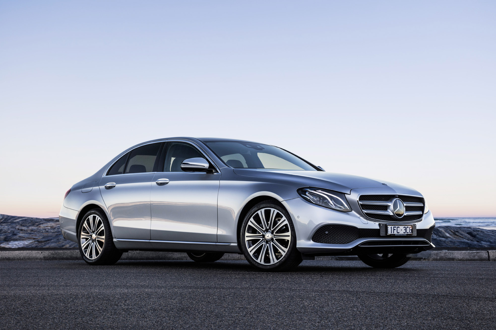 New MercedesBenz EClass Masterpiece of Intelligence