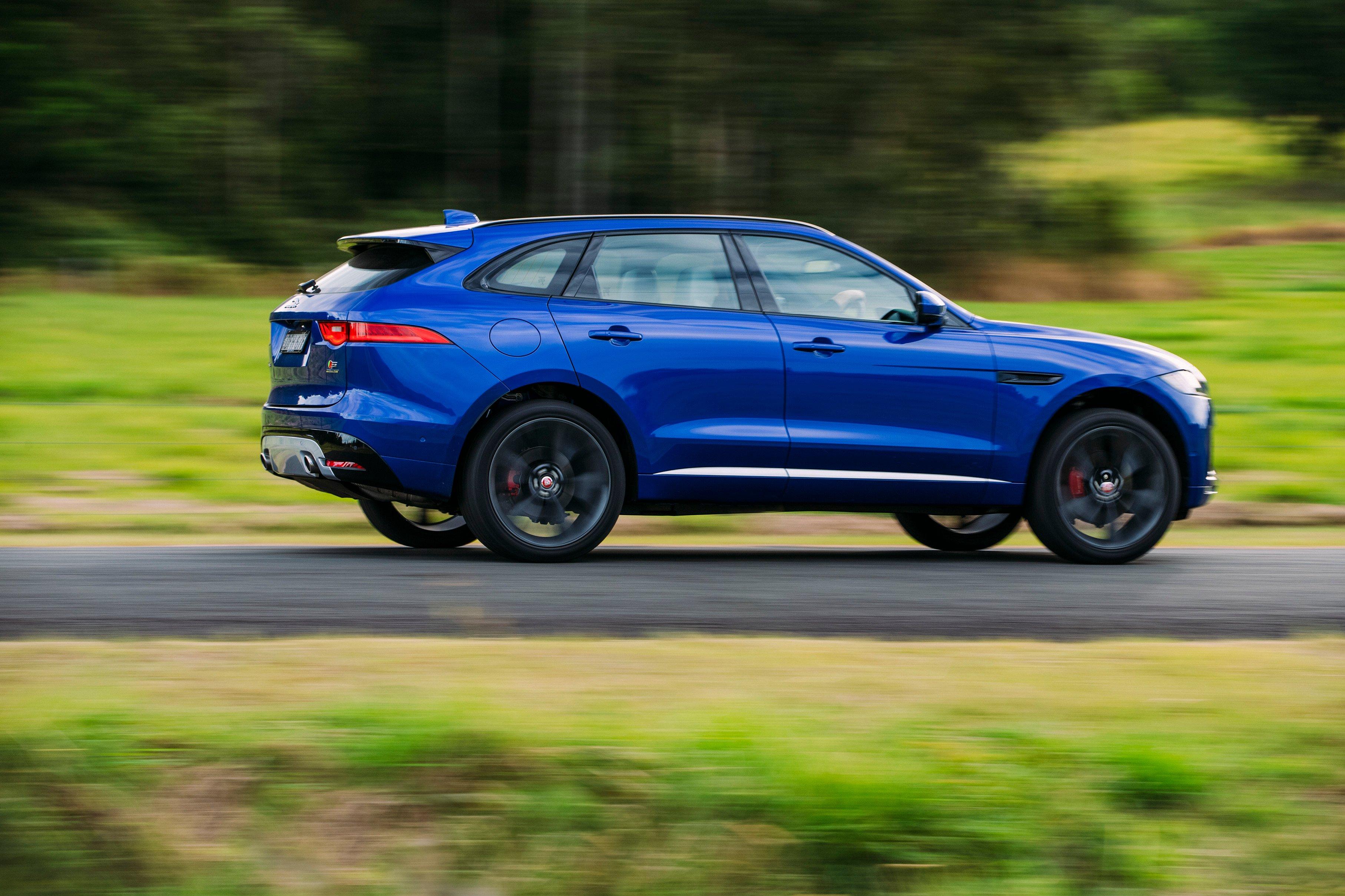 Innovative 2017 Jaguar FPace Review  CarAdvice