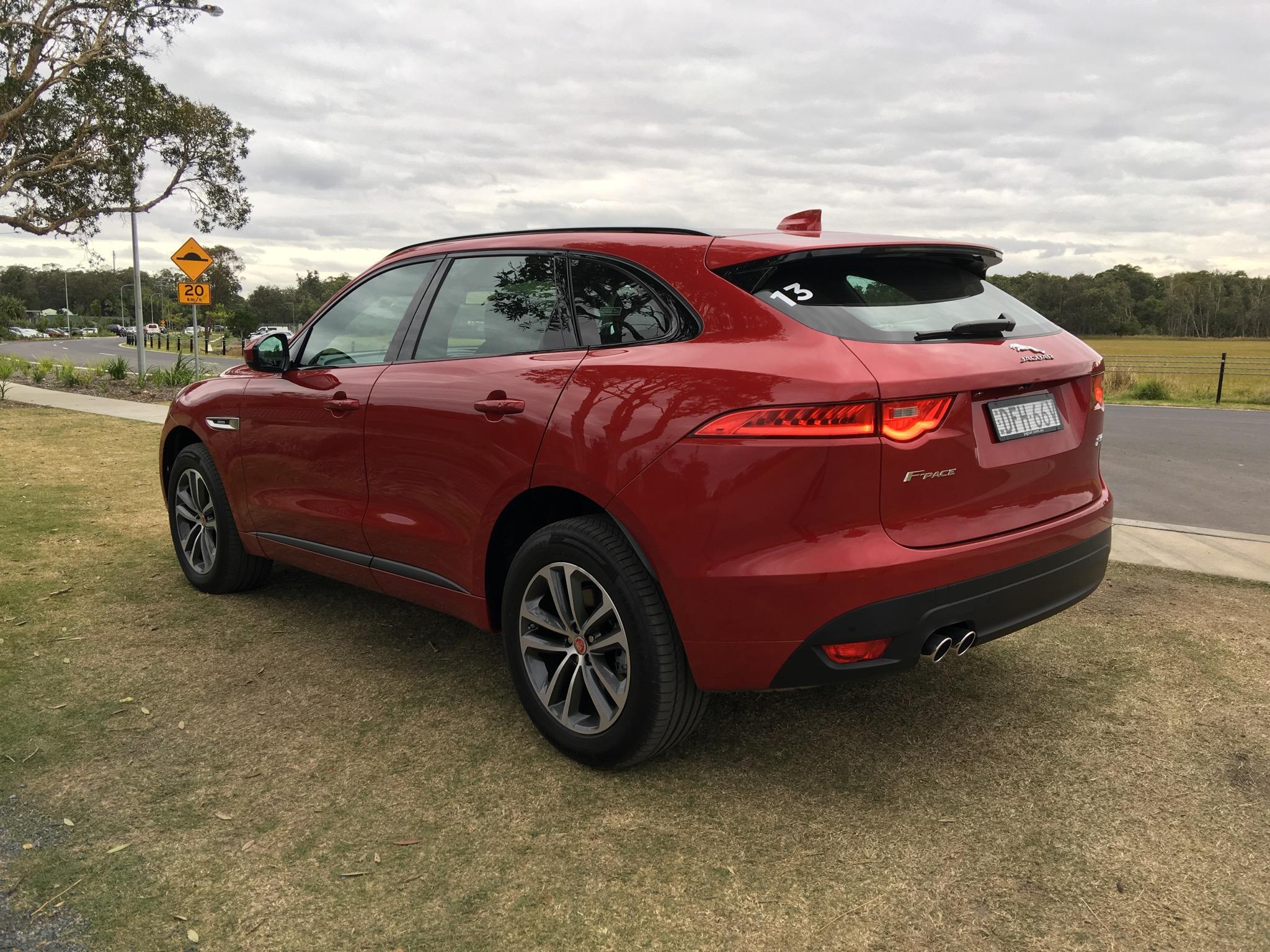 Brilliant 2017 Jaguar FPace Review  CarAdvice