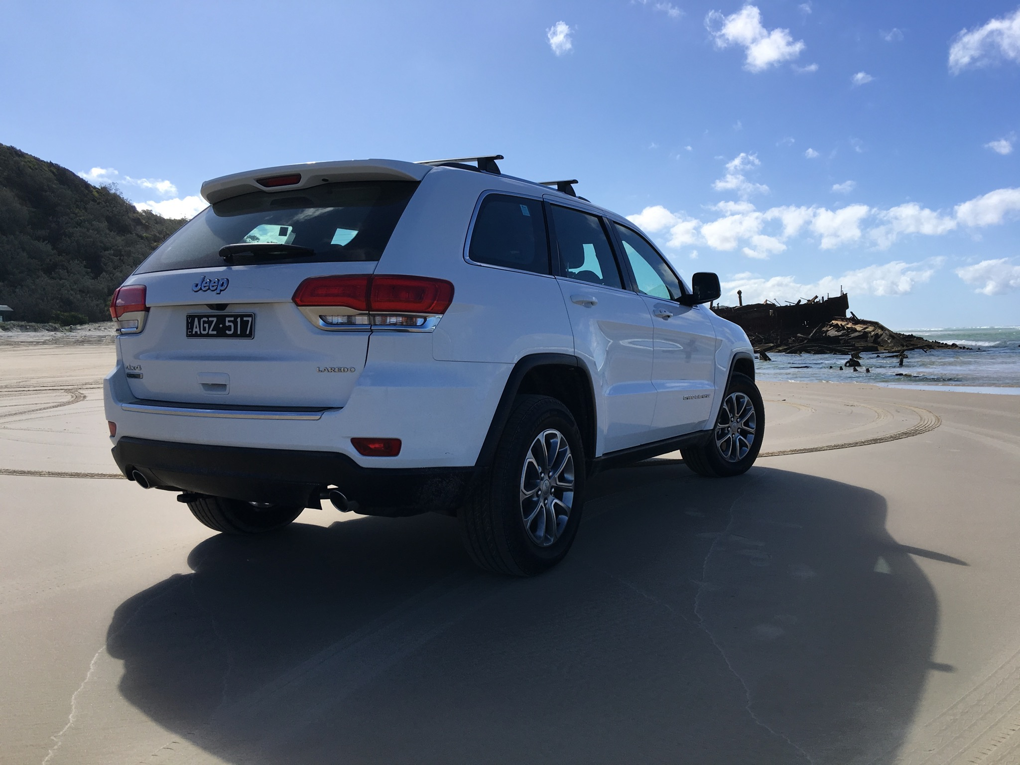 2016 jeep grand cherokee laredo review fraser island weekender. Cars Review. Best American Auto & Cars Review