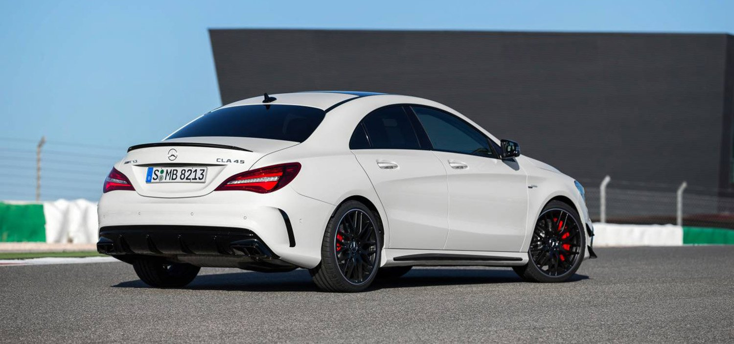 2016 mercedes benz cla refreshed coupe and wagon range. Black Bedroom Furniture Sets. Home Design Ideas