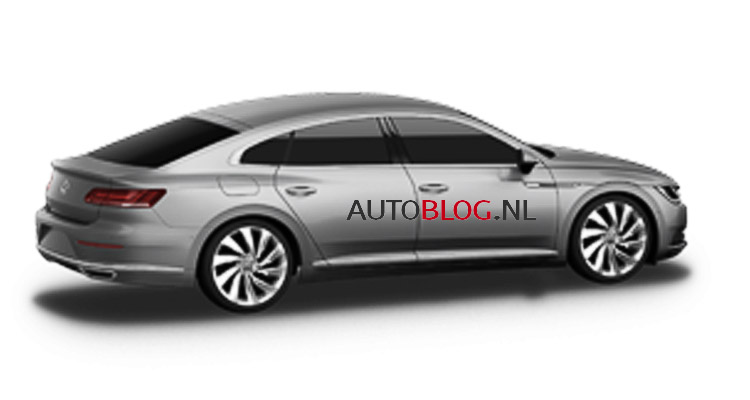 2017 Volkswagen Golf update, all-new CC revealed in Euro ...