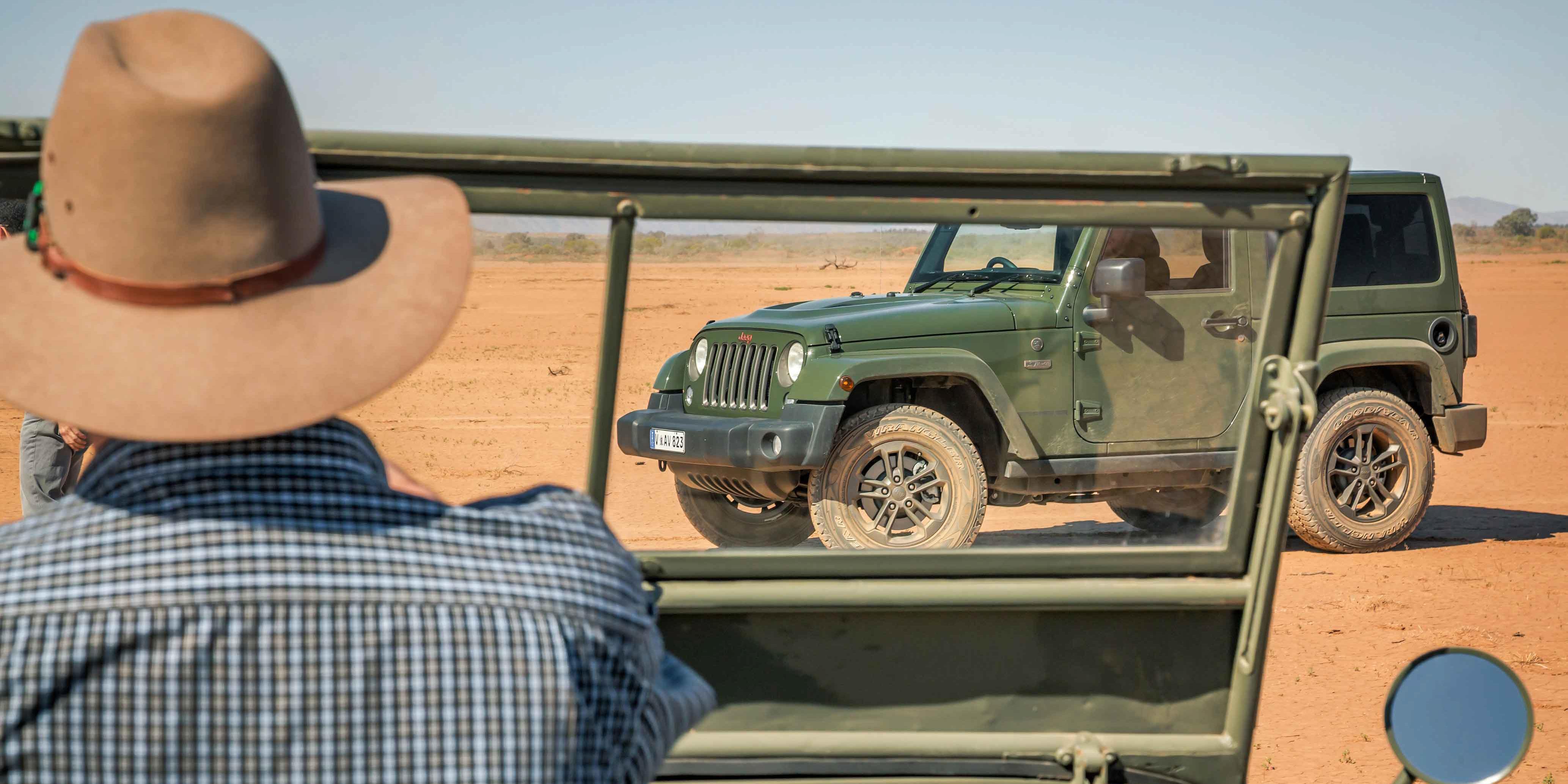 Fantastic Jeep 75th Anniversary Flashback  Photos  CarAdvice