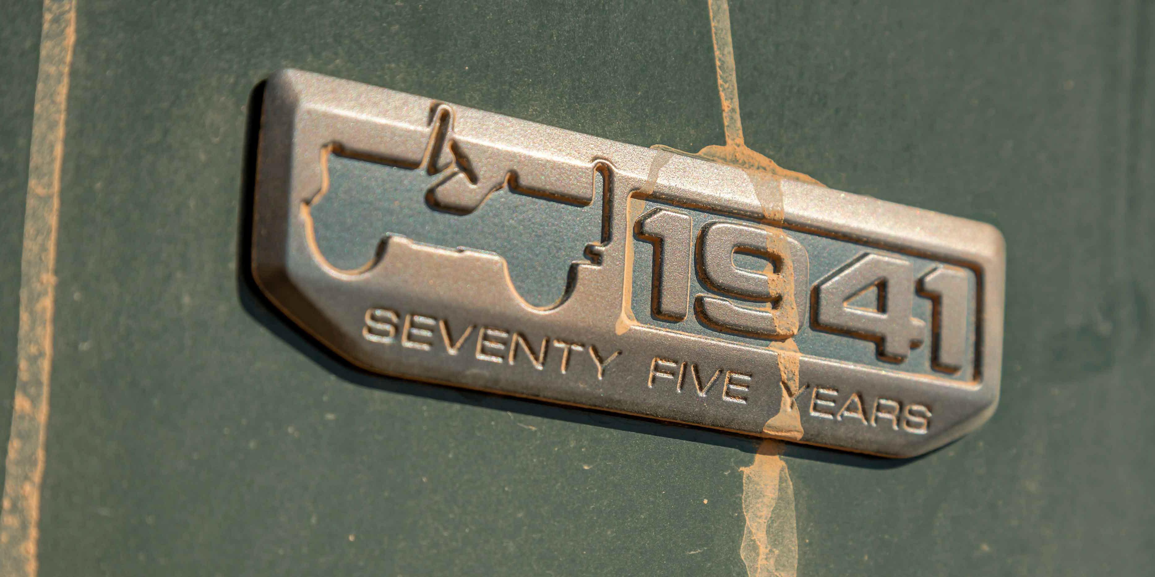 Elegant Jeep 75th Anniversary Flashback  Photos  CarAdvice