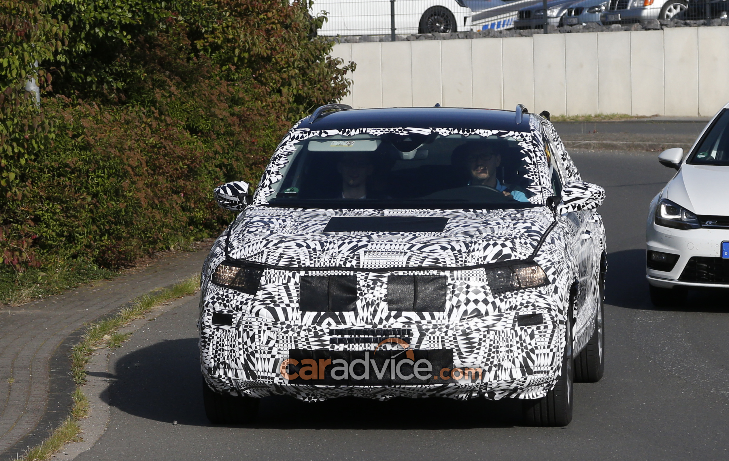 volkswagen 39 s brand new small suv spied confirmed for australia photos 1 of 7. Black Bedroom Furniture Sets. Home Design Ideas