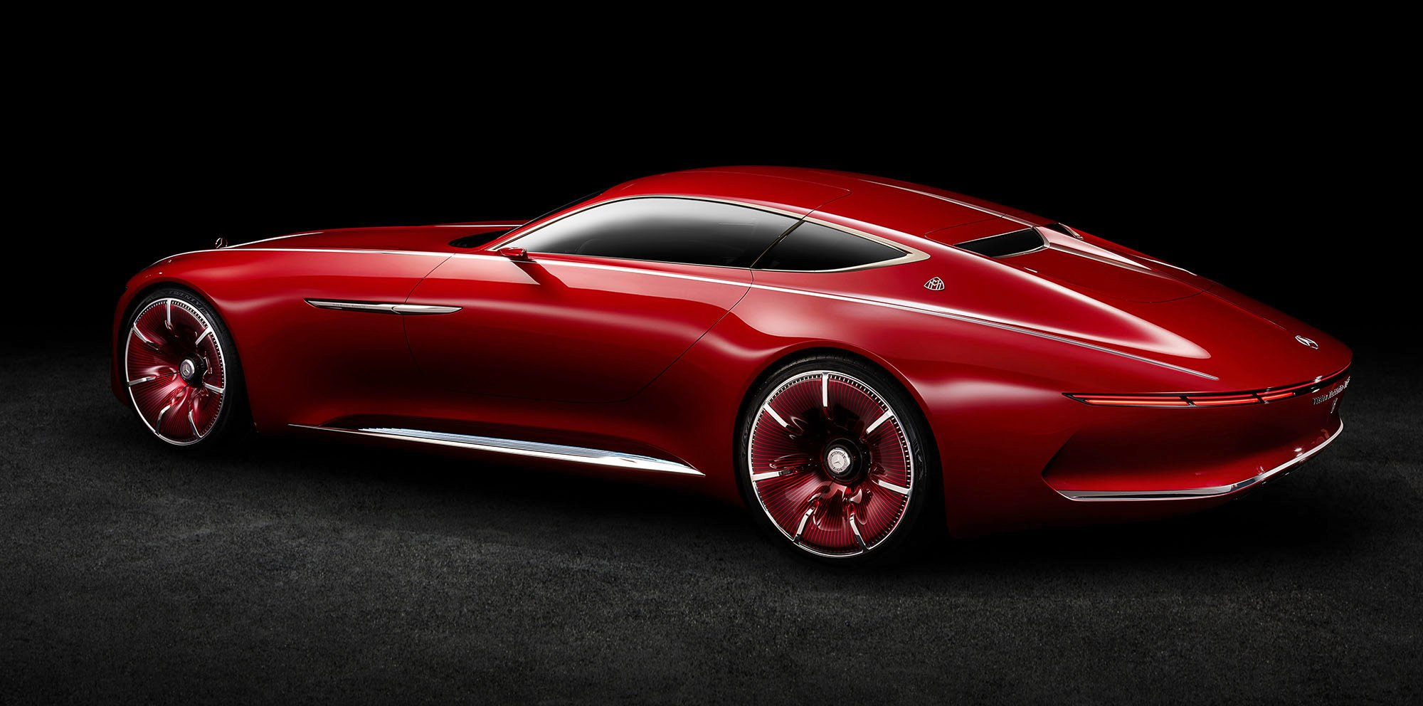 vision mercedes maybach 6 concept unveiled and detailed photos 1 of 9. Black Bedroom Furniture Sets. Home Design Ideas