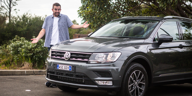 Model 2017 Volkswagen Tiguan 132TSI Comfortline Review  CarAdvice