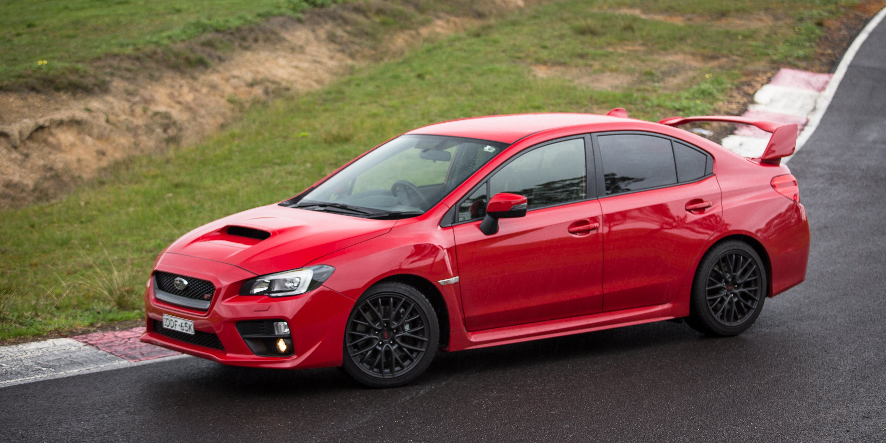 ford focus rs v subaru wrx sti v volkswagen golf r comparison track test photos 1 of 126. Black Bedroom Furniture Sets. Home Design Ideas
