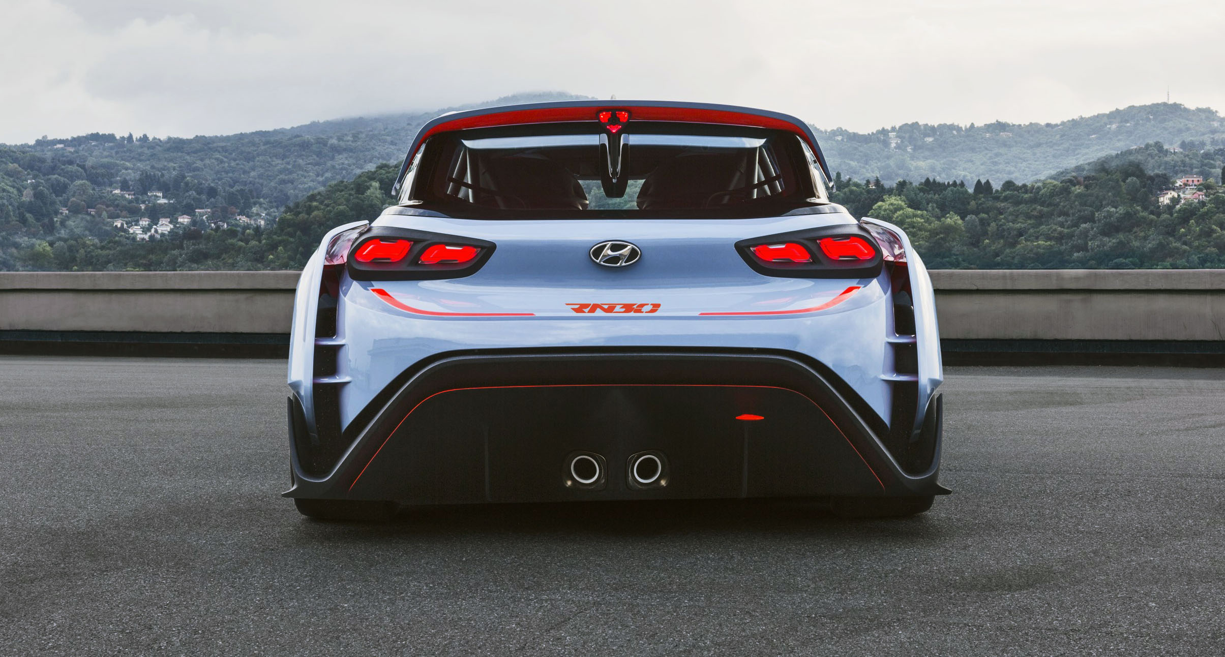 Hyundai rn30 high performance concept revealed i30 n preview debuts in