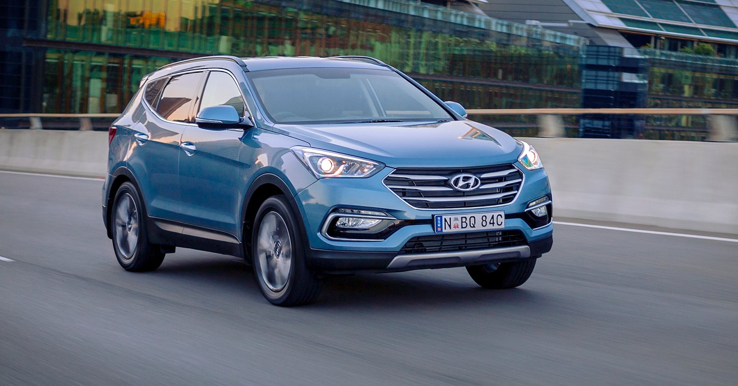 hyundai australia celebrates 30 years with santa fe tucson v6 returns to santa fe for new. Black Bedroom Furniture Sets. Home Design Ideas