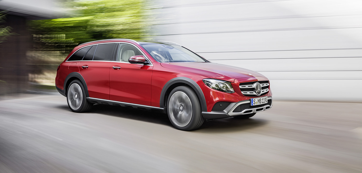 2017 mercedes benz e class all terrain revealed ahead of for All classes of mercedes benz