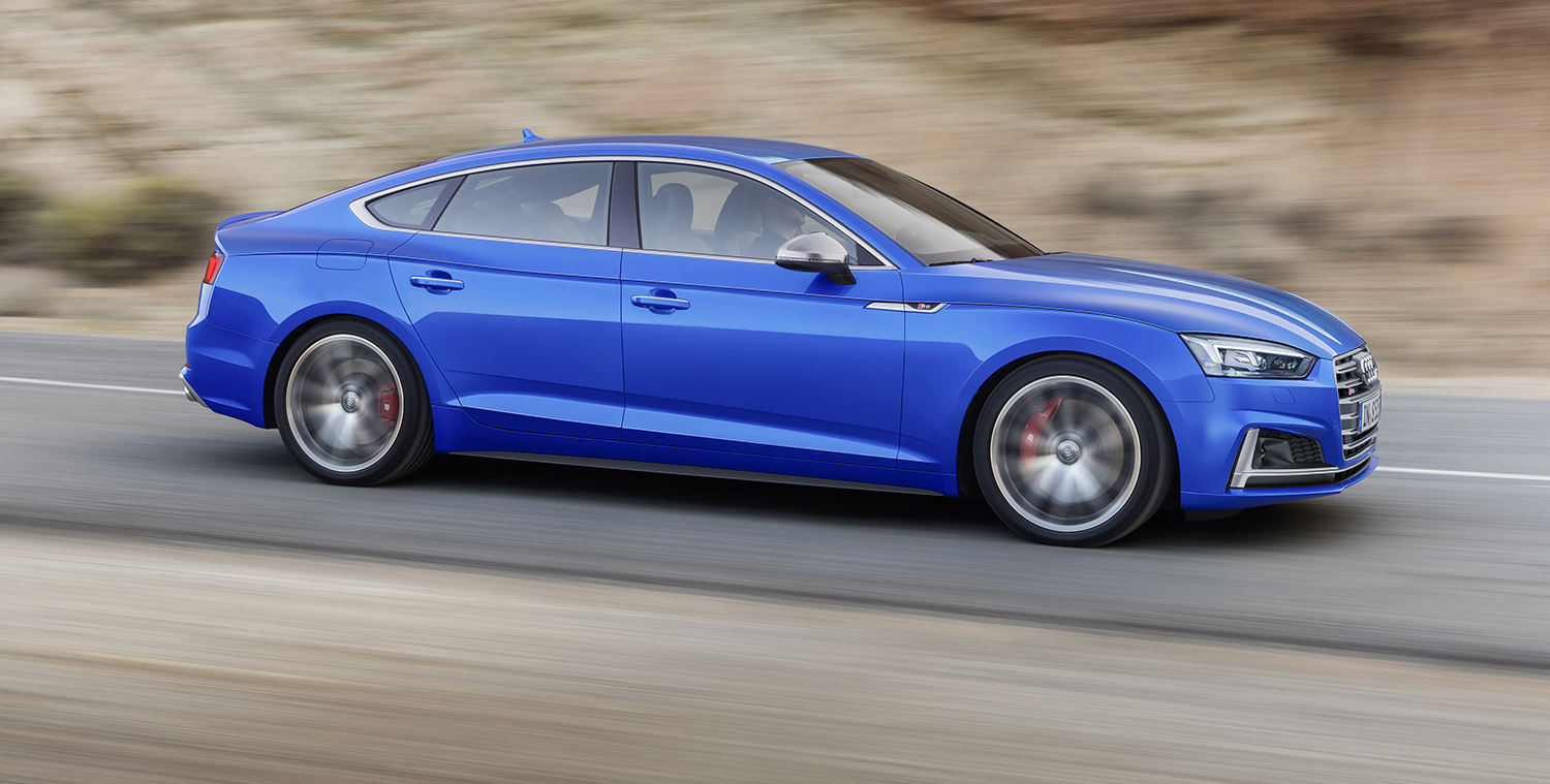 2017 Audi A5 Sportback S5 Sportback Revealed For Paris