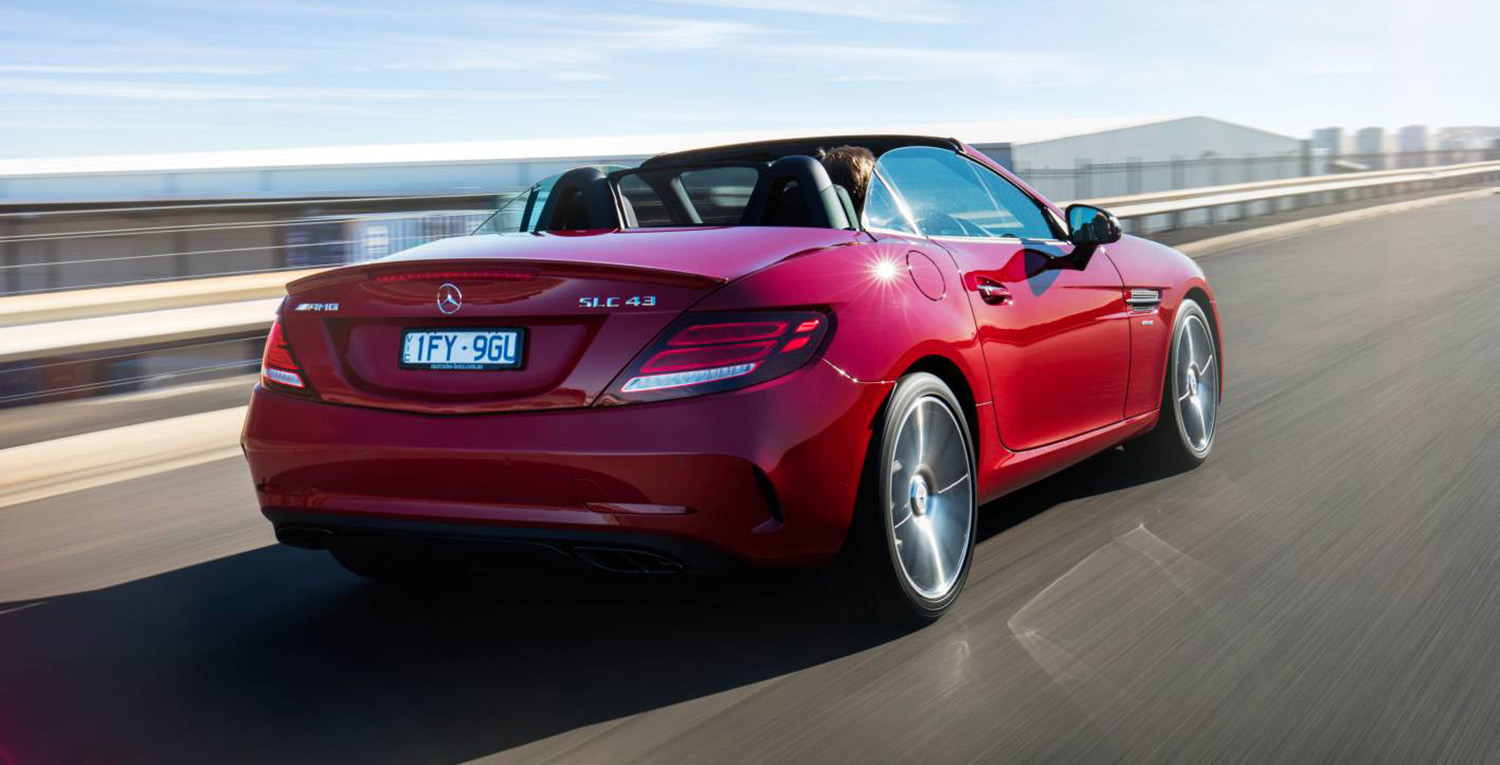 2017 mercedes benz slc pricing and specs photos 1 of 6 for Mercedes benz truck 2017 price