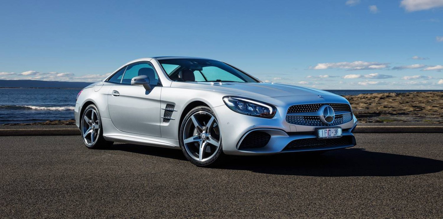 2017 mercedes benz sl pricing and specs new features for Price of a new mercedes benz