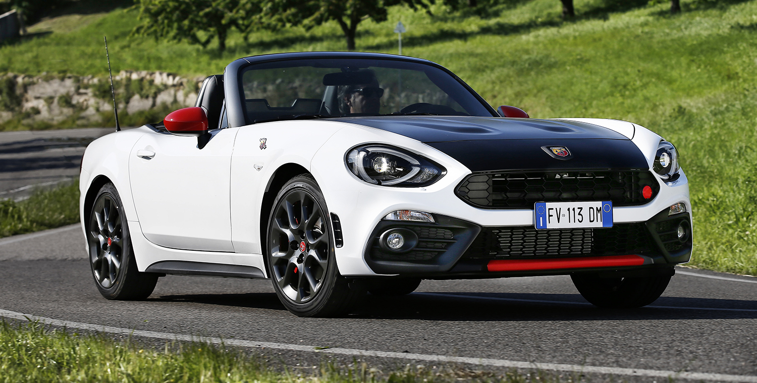 Fiat Releases Oz Performance Specs For Abarth 124 Spider
