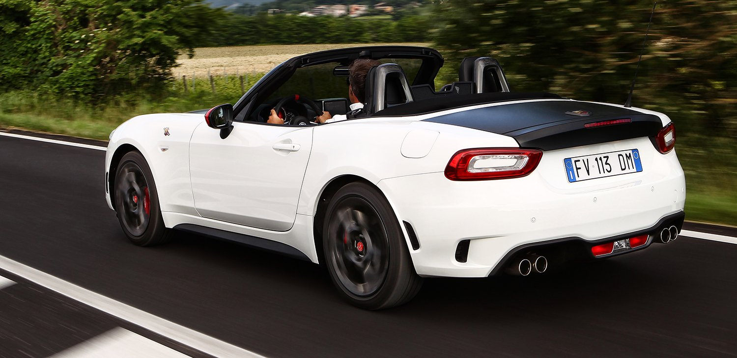 fiat releases oz performance specs for abarth 124 spider photos 1 of 8. Black Bedroom Furniture Sets. Home Design Ideas