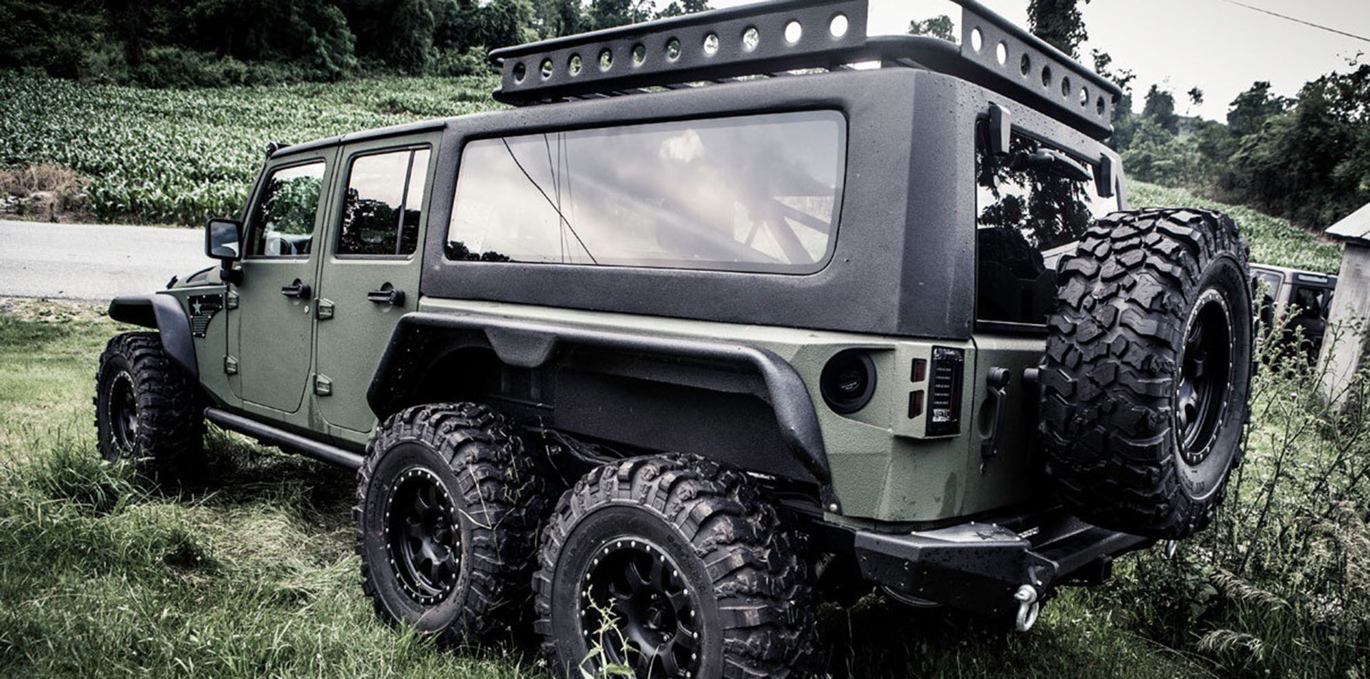 G Patton Tomahawk:: 6x6 Jeep Wrangler Unveiled In China