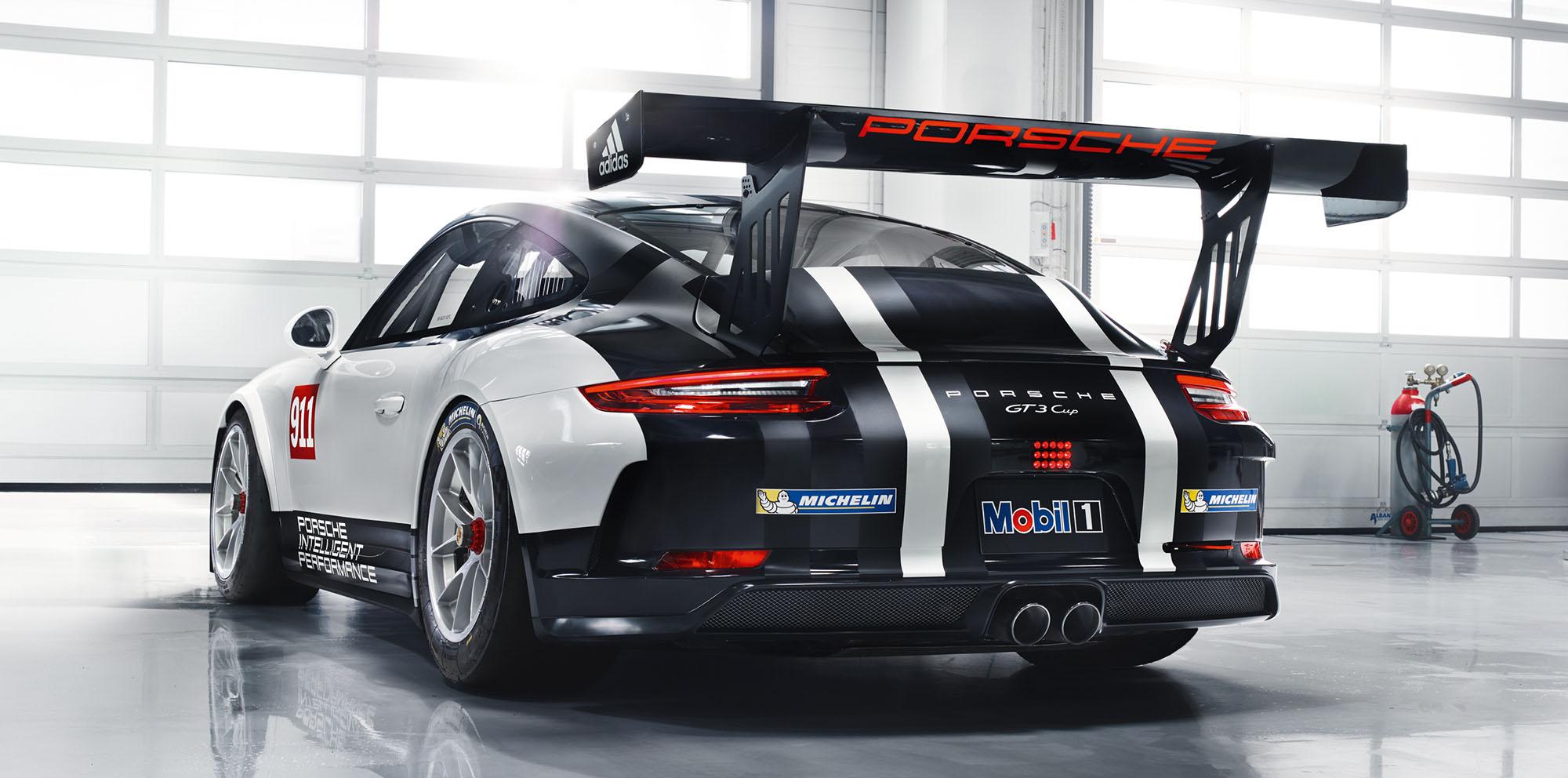 2017 Porsche 911 Gt3 Cup Race Car Unveiled Photos 1 Of 6