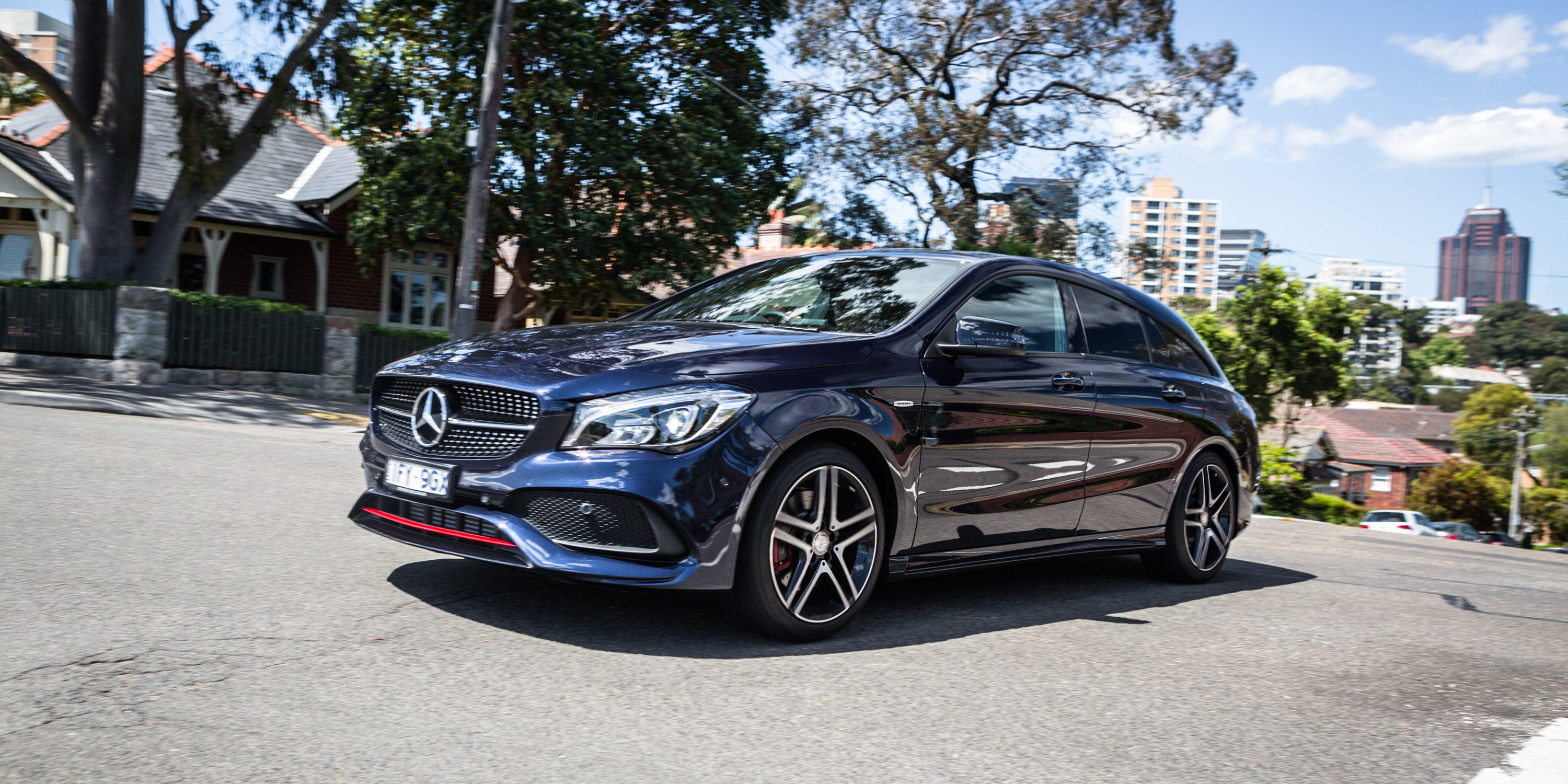 2016 mercedes benz cla 250 sport 4matic shooting brake for Mercedes benz cla 250 review