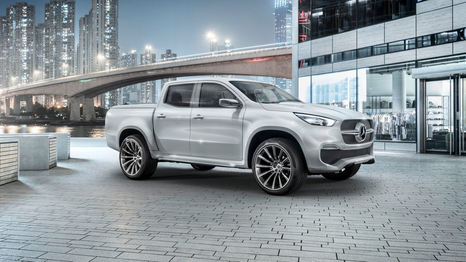 Mercedes benz x class pick up concept revealed photos 1 for Mercedes benz in md