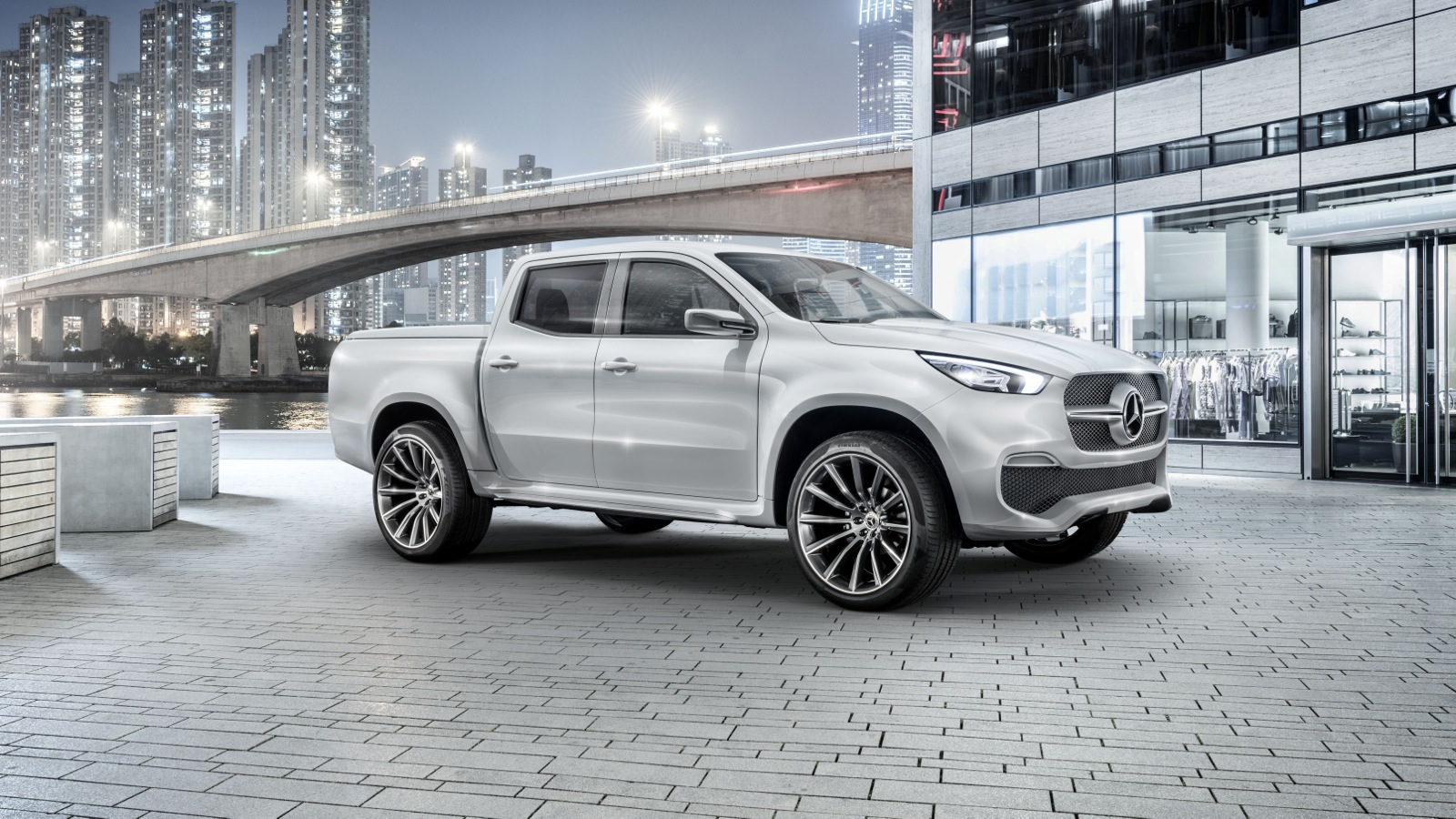 mercedes benz x class ute engine details revealed photos 1 of 4. Black Bedroom Furniture Sets. Home Design Ideas