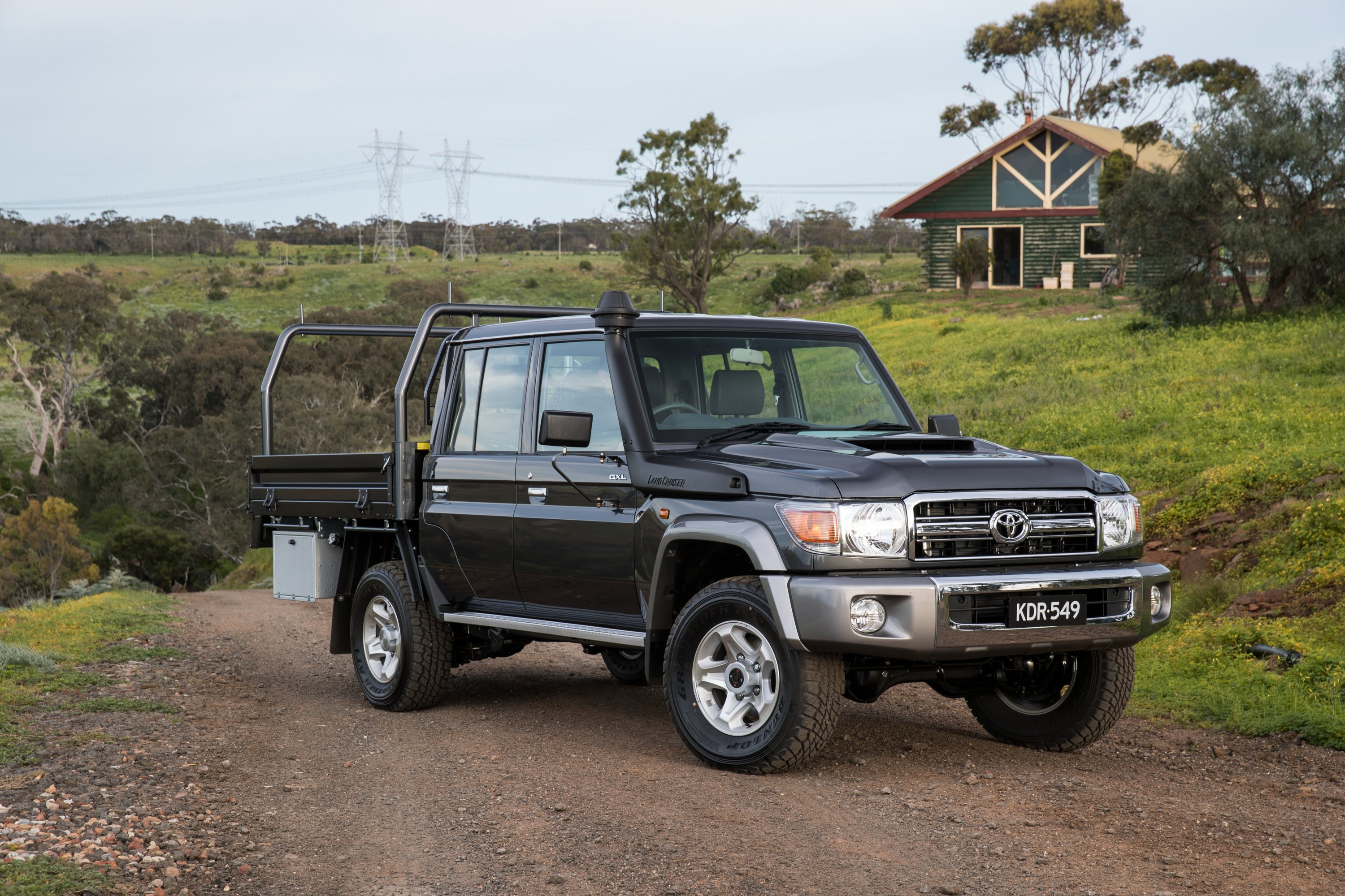 2017 toyota landcruiser 70 series review caradvice. Black Bedroom Furniture Sets. Home Design Ideas