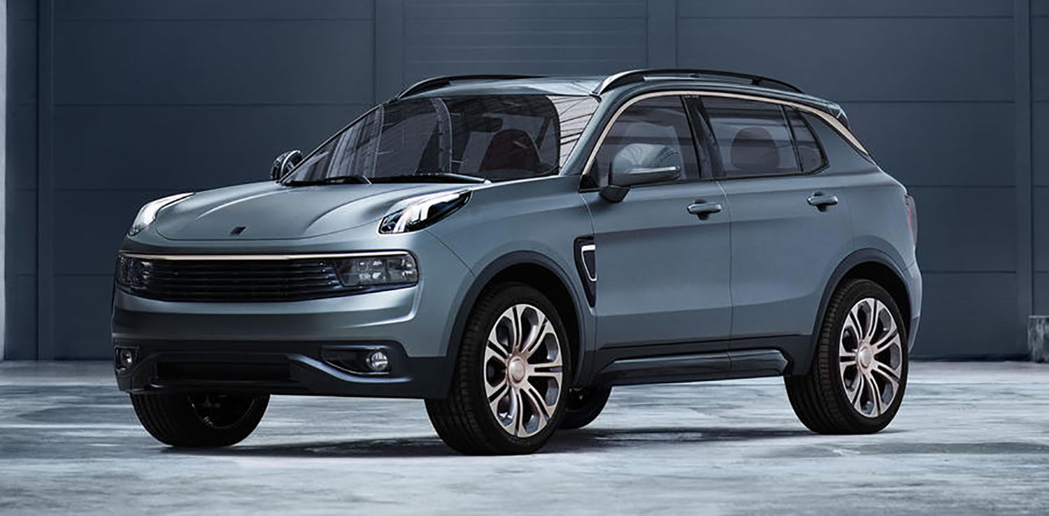 Lynk Amp Co 01 Revealed New Chinese Suv The Most