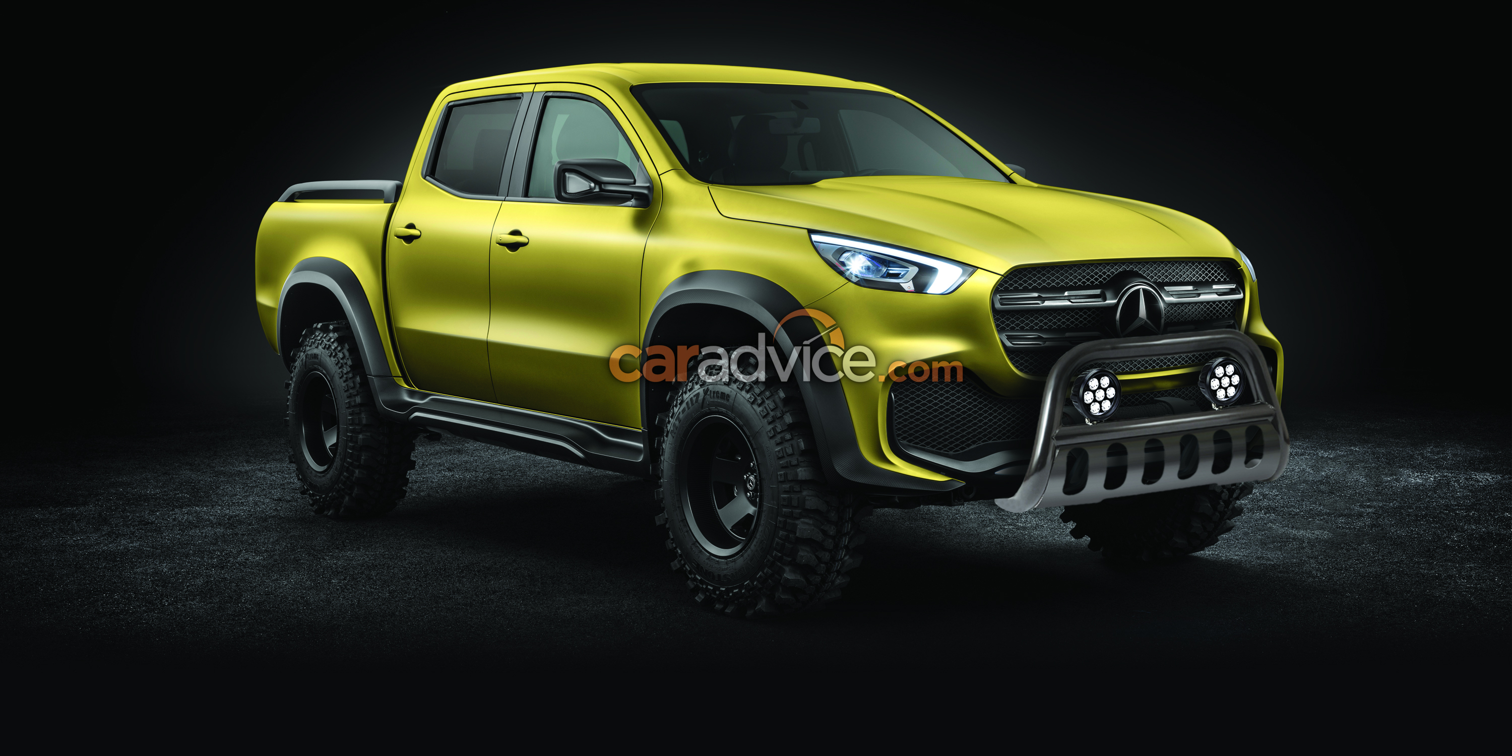Mercedes benz x class ute to get full range of accessories for Mercedes benz accessory