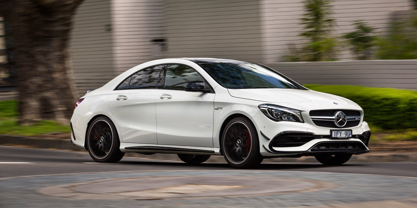 2017 mercedes amg cla45 review caradvice for Mercedes benz cla amg