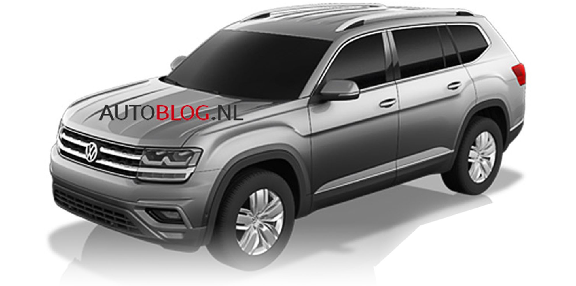 2017 volkswagen atlas production crossblue suv to debut end of october photos 1 of 4. Black Bedroom Furniture Sets. Home Design Ideas
