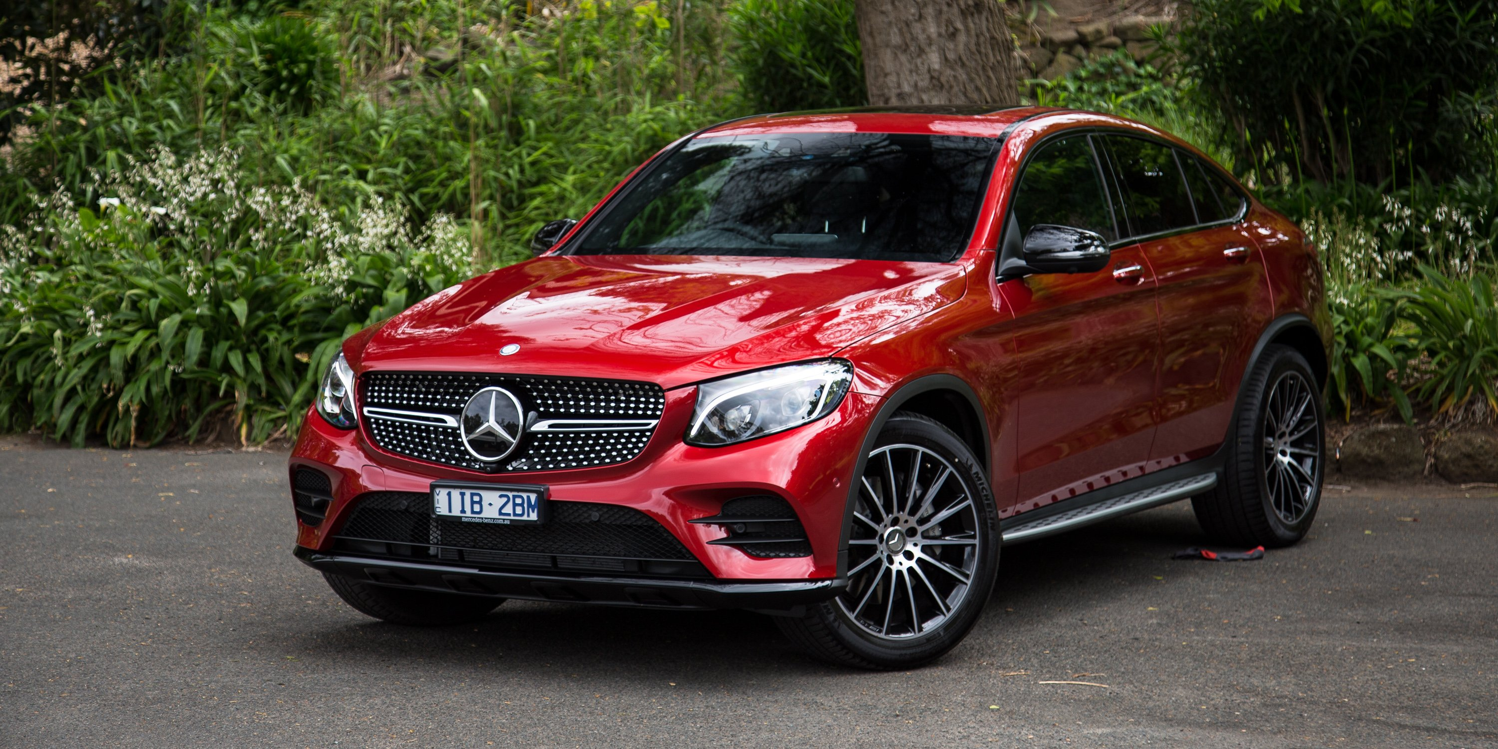 2017 mercedes benz glc coupe review caradvice for Mercedes benz ratings