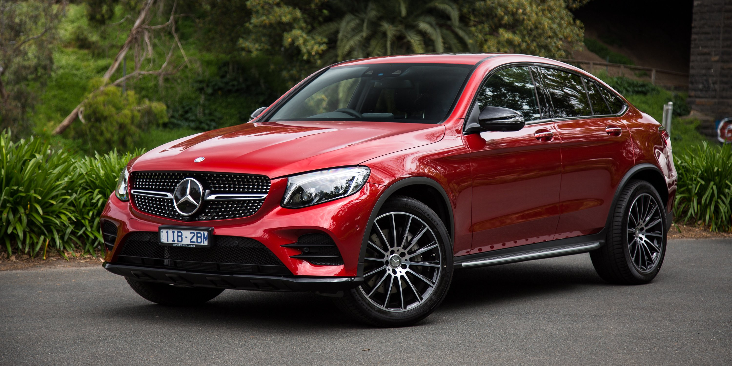 2017 mercedes benz glc coupe review caradvice for Mercedes benz glc
