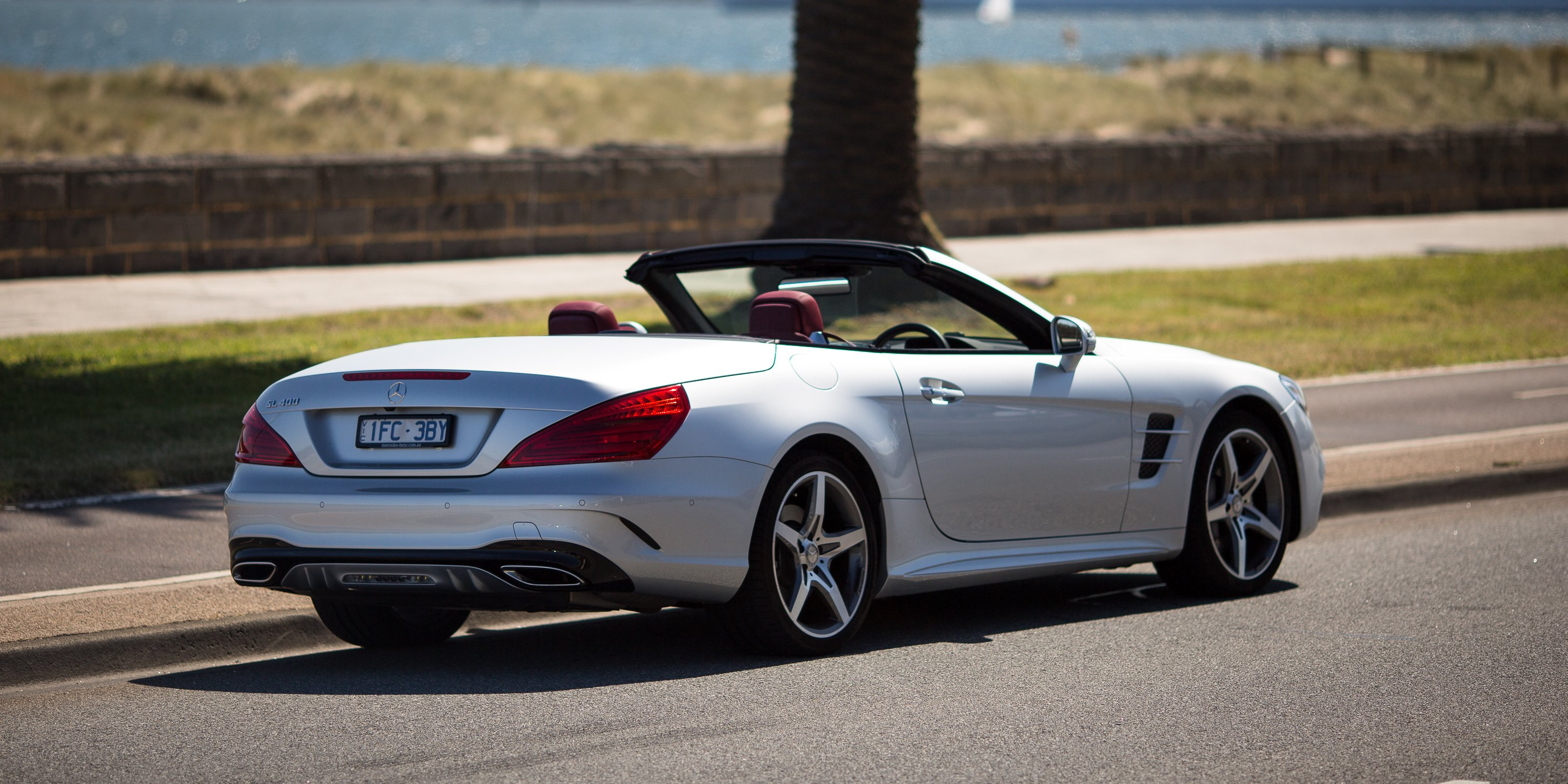 2017 mercedes benz sl400 review caradvice for Mercedes benz of bellevue