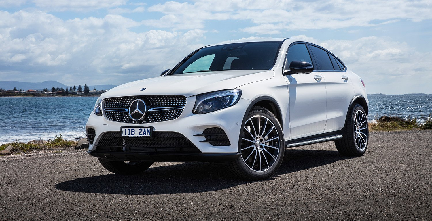 2017 mercedes benz glc coupe pricing and specs sports for Mercedes benz amg suv price
