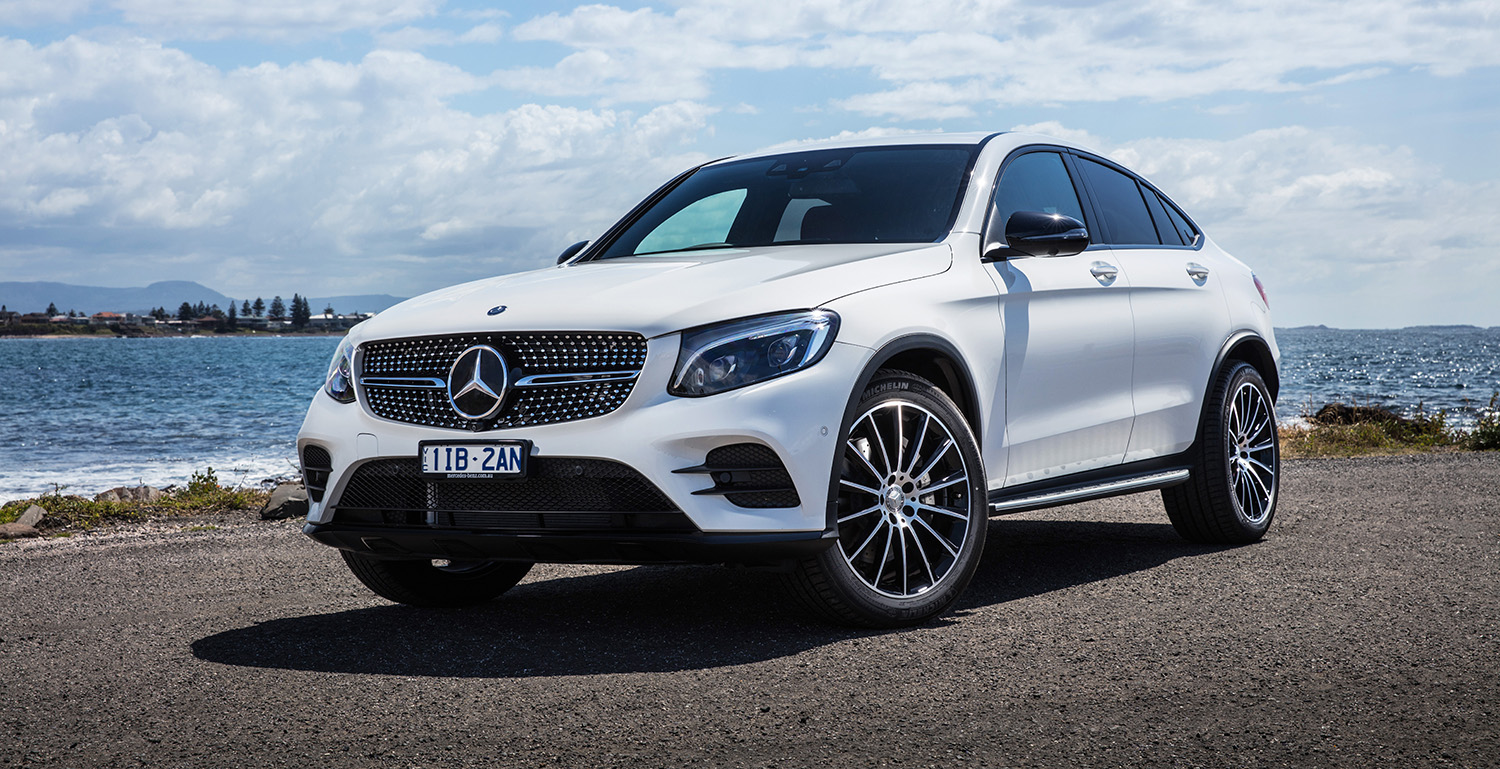 2017 mercedes benz glc coupe pricing and specs sports for Mercedes benz amg suv